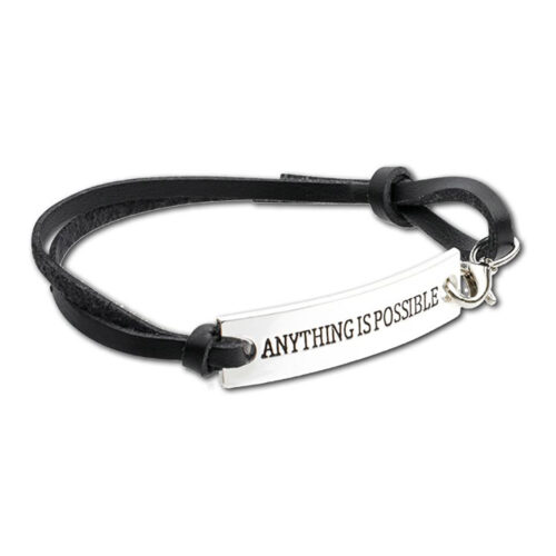 Anything is Possible Inspirational Bracelet