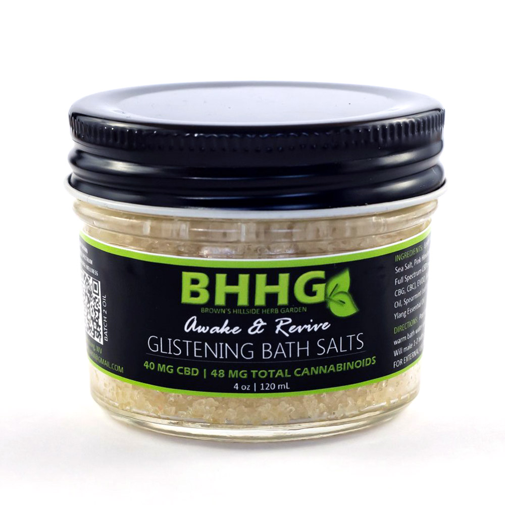 BHHG Awake & Revive Glistening Bath Salts