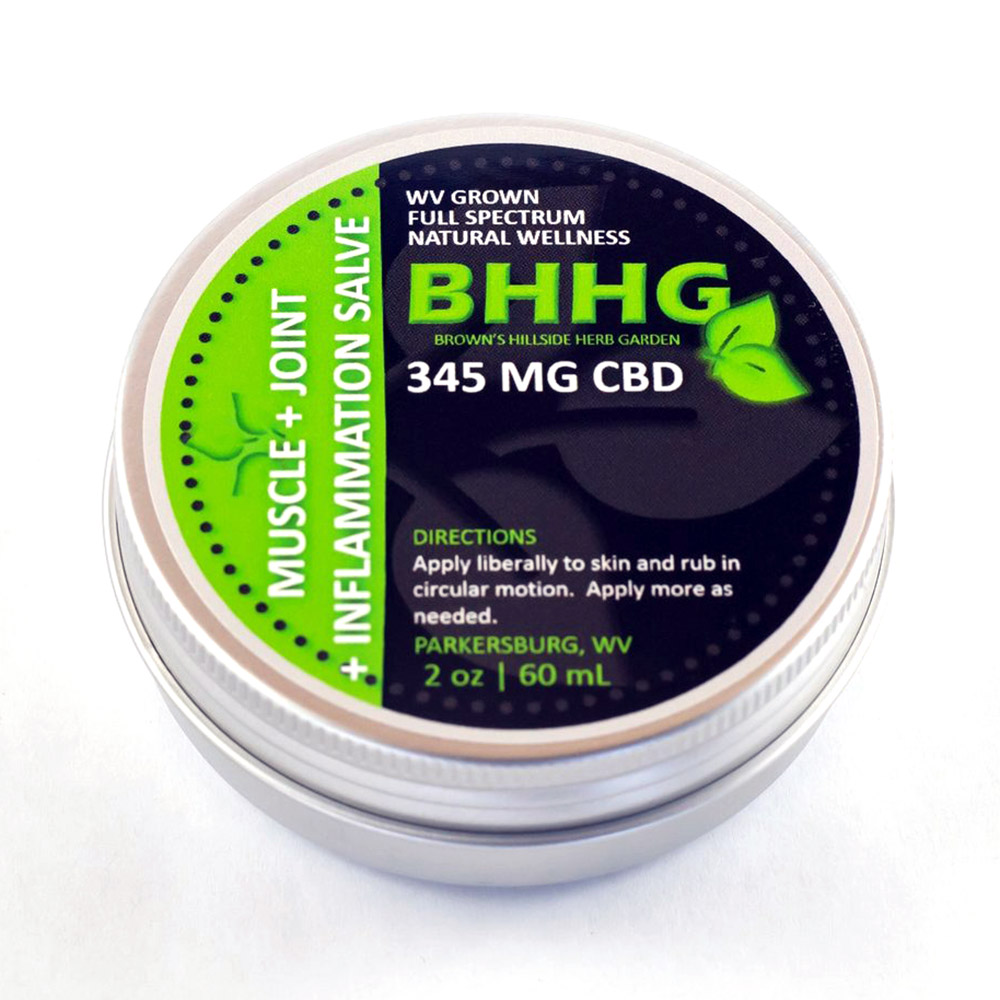 BHHG Muscle + Joint + Inflammation Salve