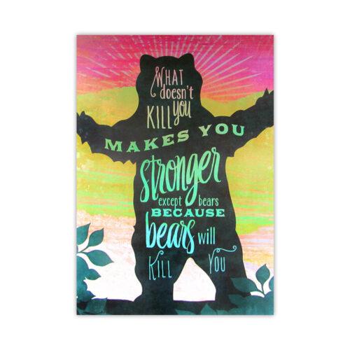 Leanin' Tree Bears Encouragement Card