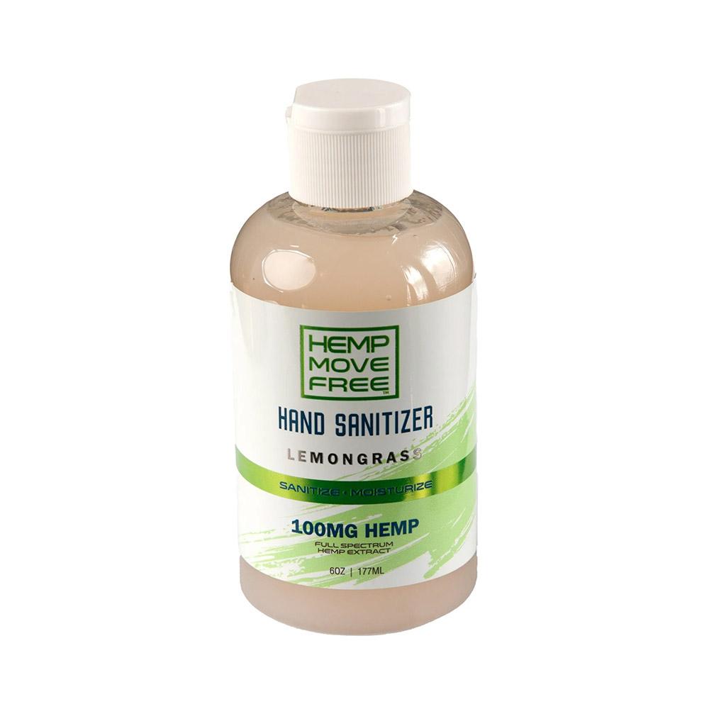 CBD Move Free Hand Sanitizer (Lemongrass)