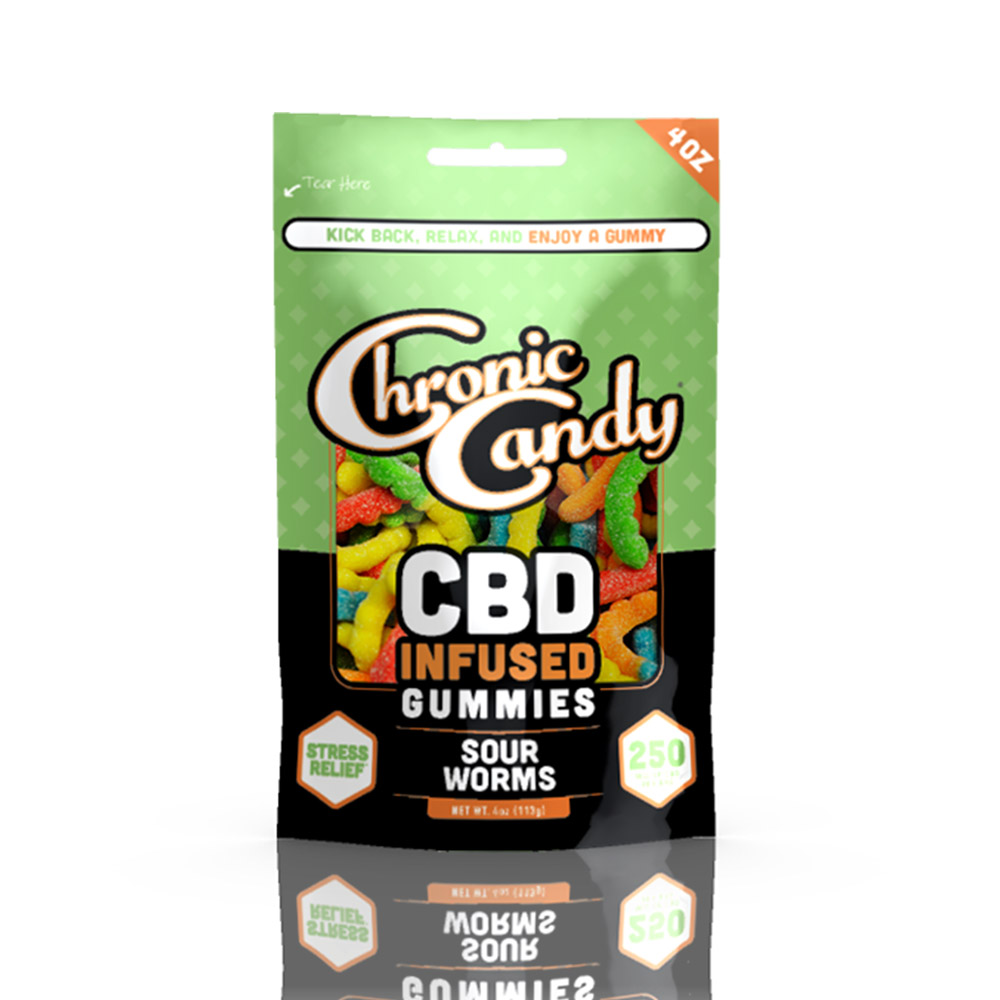 Chronic Candy Sour Worms