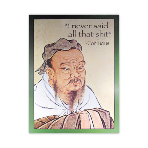 Leanin' Tree Confucius Birthday Card