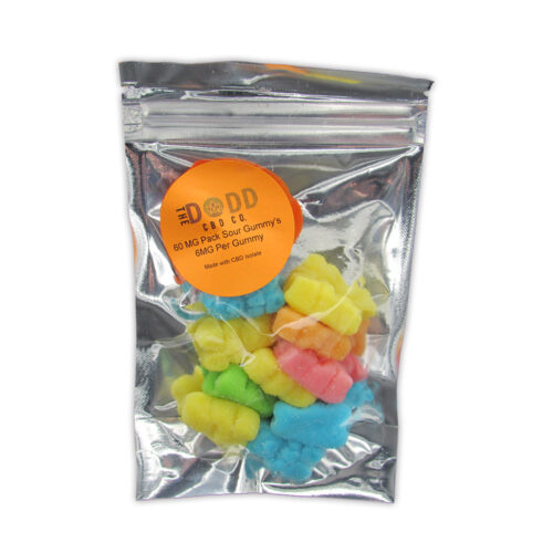 Dodd CBD Gummy 60 mg (6 mg per gummy)