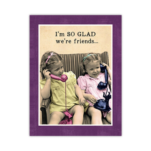 Leanin' Tree Friendship Card