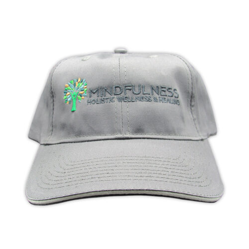 Gray Mindfulness Hat
