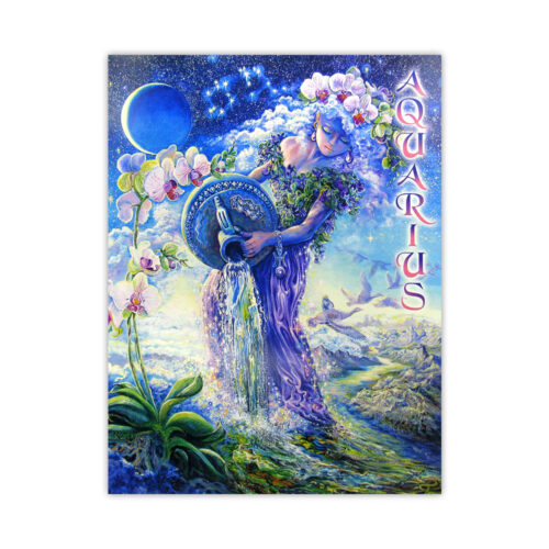 Leanin' Tree Loving Thoughts Aquarius Card