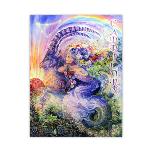 Leanin' Tree Loving Thoughts Capricorn Card
