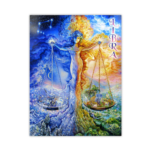 Leanin' Tree Loving Thoughts Libra Card