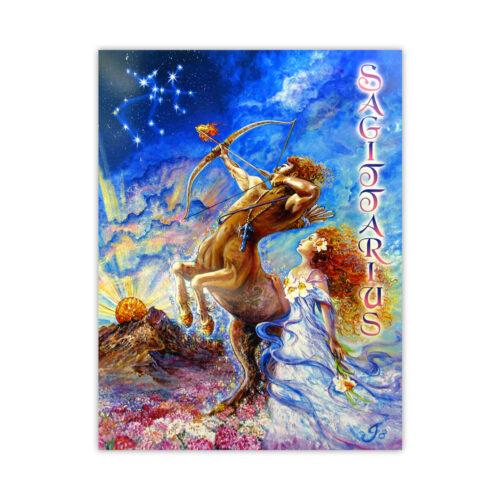 Leanin' Tree Loving Thoughts Sagittarius Card