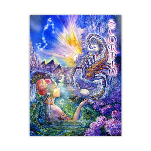 Leanin' Tree Loving Thoughts Scorpio Card