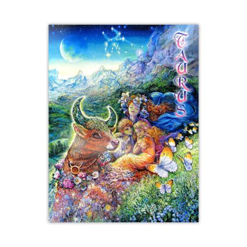 Leanin' Tree Loving Thoughts Taurus Card