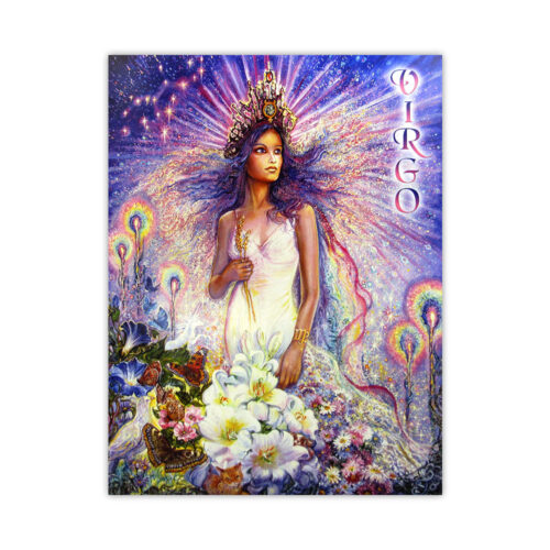 Leanin' Tree Loving Thoughts Virgo Card