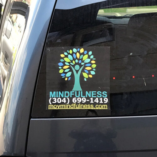 Mindfulness Car Decal