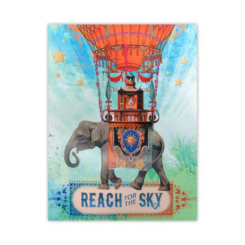 Leanin' Tree Reach For The Sky Blank Card