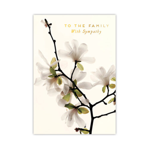 Leanin' Tree To The Family Sympathy Card
