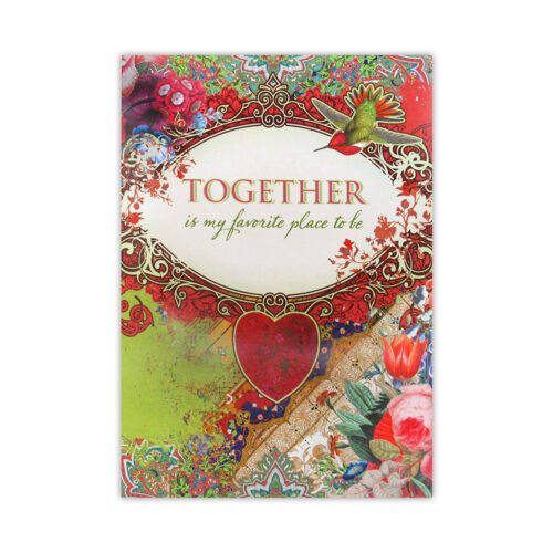 Leanin' Tree Together Love Card