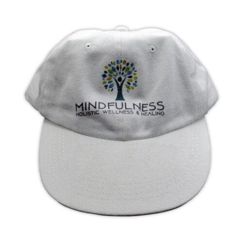 White Mindfulness Hat